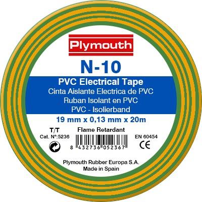 Plymouth N-10 - verde/galben