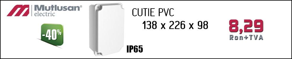 Cutie PVC 138x226x98