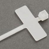 Coliere din plastic cu eticheta 8 x 25 mm
