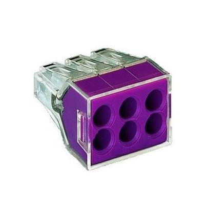 Conector doza transparent 6 poli - seria 773