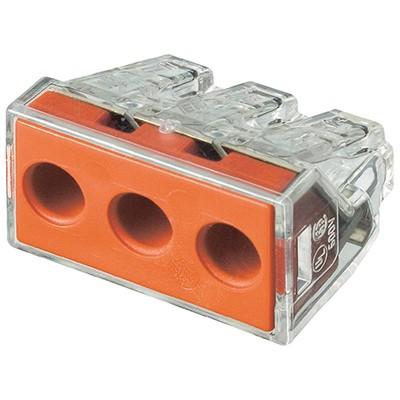 Conector doza transparent 3 poli - seria 773