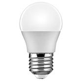 Bec LED sferic 6W, E27, G45