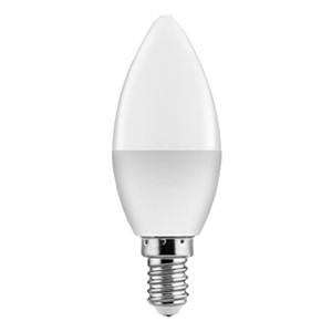Bec LED lumanare 6W, E14, C37