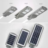 Corpuri de iluminat stradal cu panou solar
