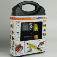 Set mini polizor, mini freza 17W